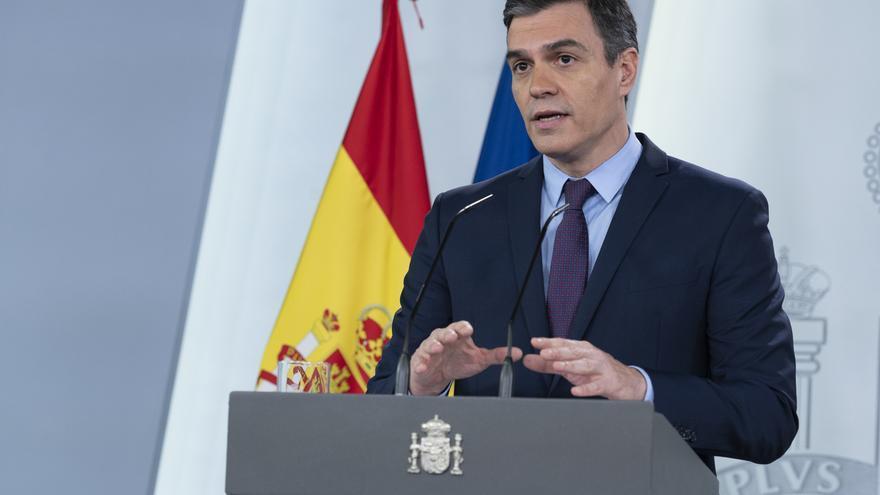 """Sánchez apela a la colaboración de los medios para no calificar de """"fracaso"""" las decisiones no eficaces"""