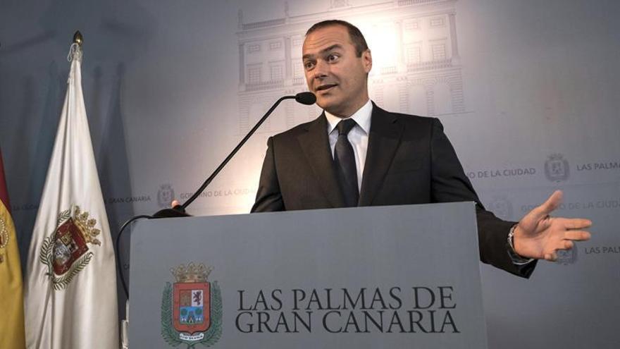 El alcalde de Las Palmas de Gran Canaria, Augusto Hidalgo. (EFE)