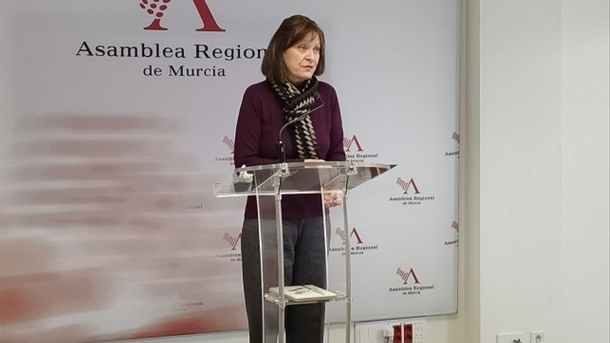 María Marín, diputada de Podemos Región de Murcia
