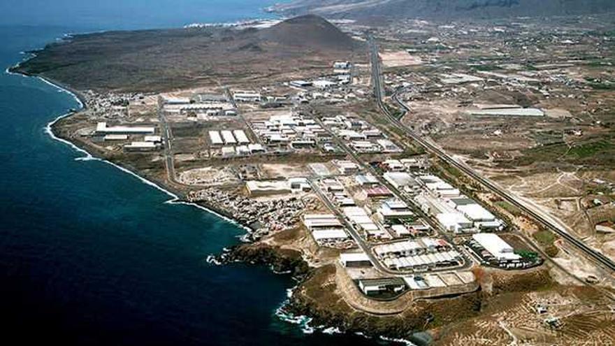El polígono industrial de Güímar (Tenerife), en una imagen de archivo