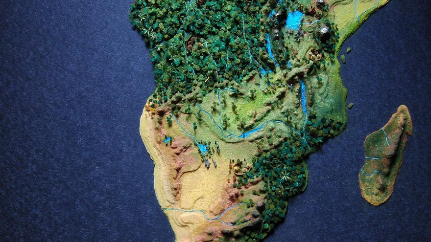 'Africa', obra de Juan Pablo Rada. Foto: Pedro Arnay