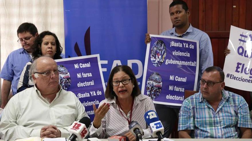 Opositores piden reportar anomalías en comicios municipales de Nicaragua