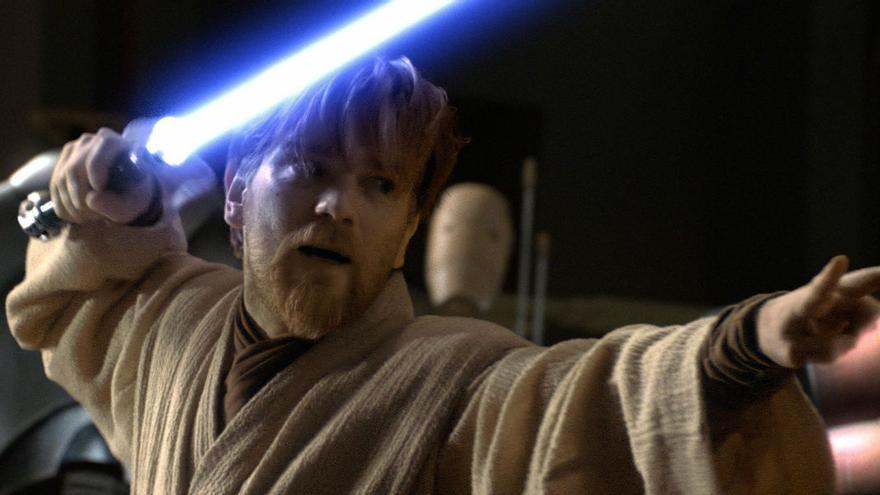El actor Ewan McGregor como el personaje Obi-Wan Kenobi