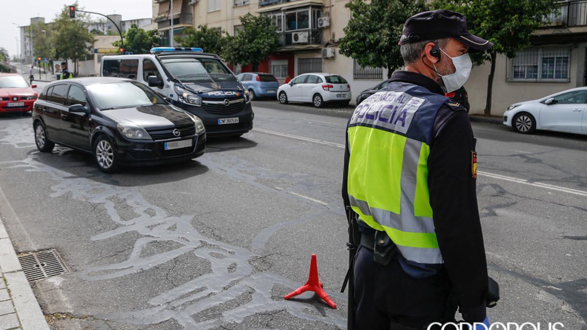 Control policial durante el estado de alarma