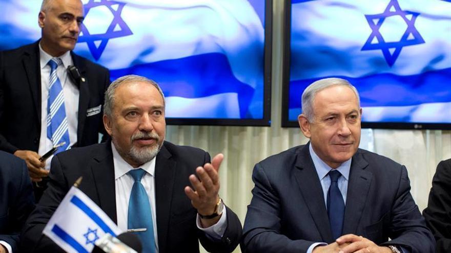 Lieberman pide a Netanyahu que asuma un canje de territorio con palestinos