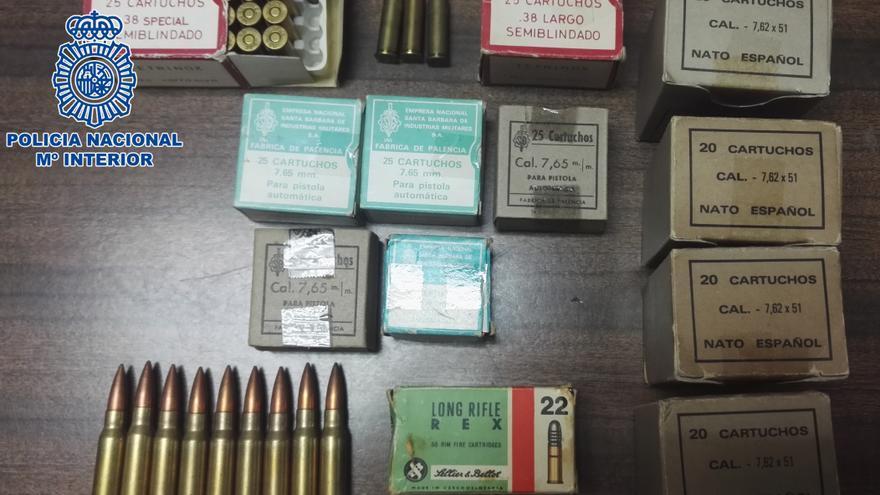 Cartuchos de armas de fuego.