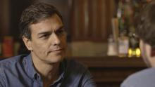 Pedro Sánchez durante la entrevista con Jordi Évole | Foto de Salvados/LaSexta