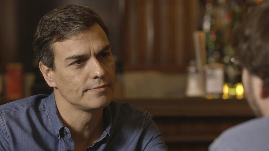 Pedro Sánchez durante la entrevista con Jordi Évole   Foto de Salvados/LaSexta