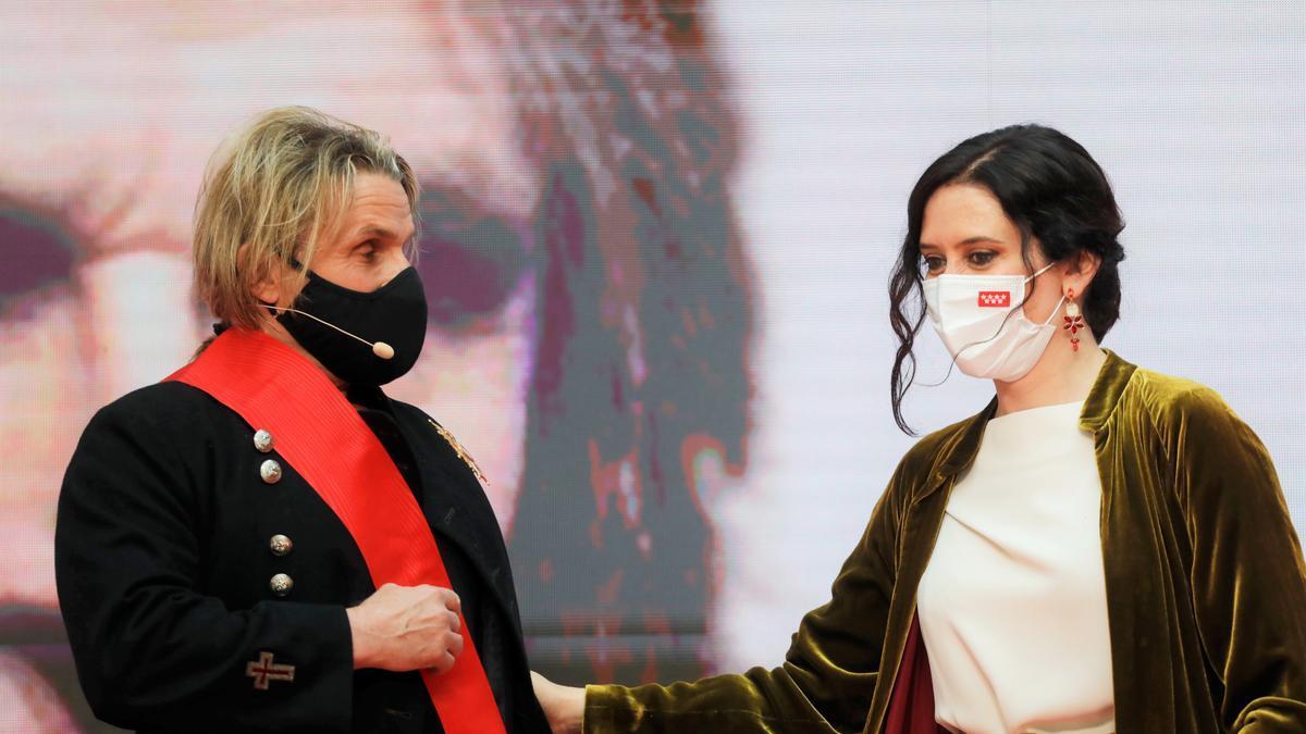 Nacho Cano e Isabel Díaz Ayuso