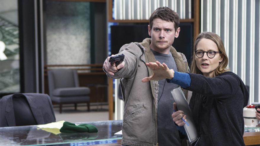 Jodie Foster dirigiendo 'Money Monster'