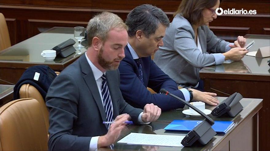 """El diputado del PP Óscar Clavell, autor de la frase """"es más falso que la Catedral de Burgos"""""""