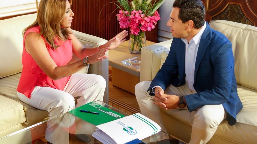 Moreno ve importante la voz de Andalucía sobre financiación pero destaca la necesidad de un acuerdo nacional PP-PSOE