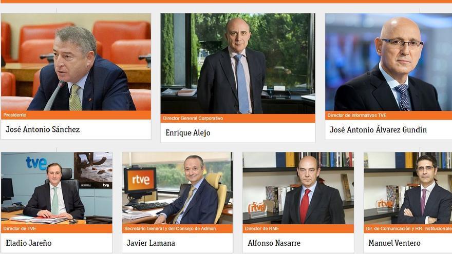 El comité de dirección de RTVE