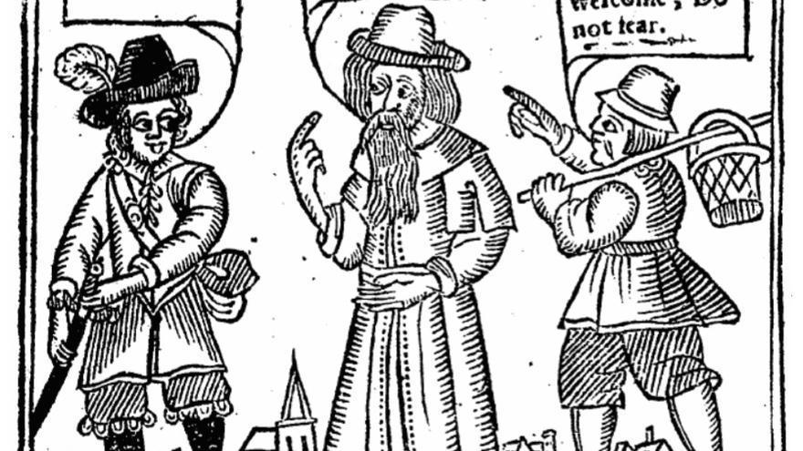 Portada de la obra 'La defensa de la Navidad', de 1653