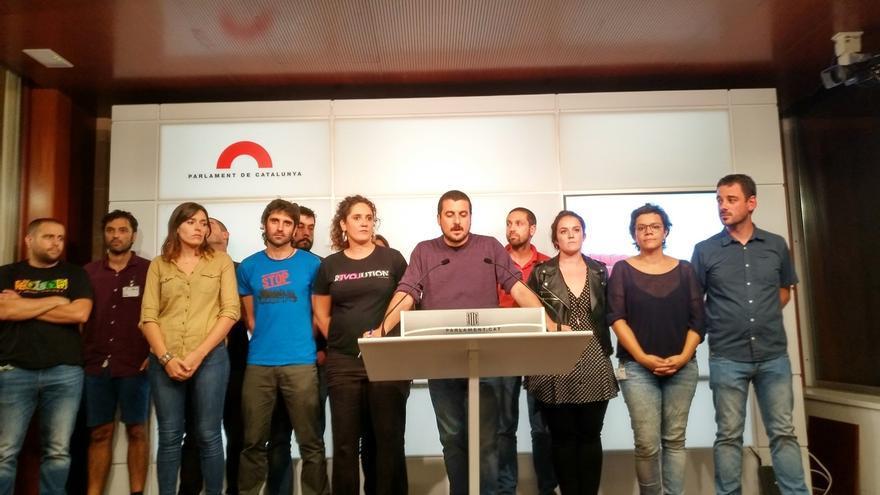 La CUP niega que consensura con JxSí retrasar la declaración de independencia