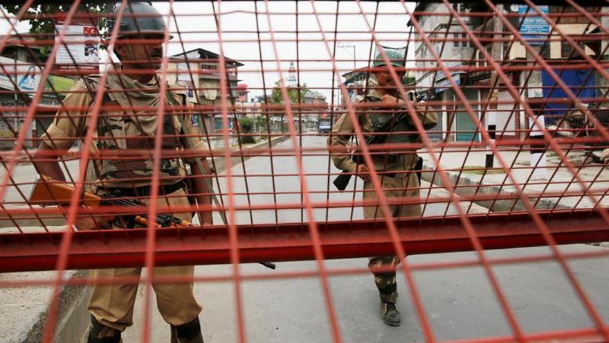 Supremo indio estudiará retirar al Gobierno regional el control de Cachemira