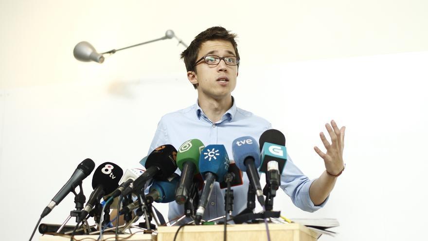 Íñigo Errejón participa el sábado en el de cierre de campaña de la candidatura de Joan Bosch a dirigir Podemos Navarra