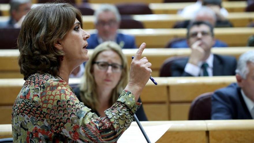 Delgado explica su relación con Villarejo en el Congreso, que ha pedido su cese