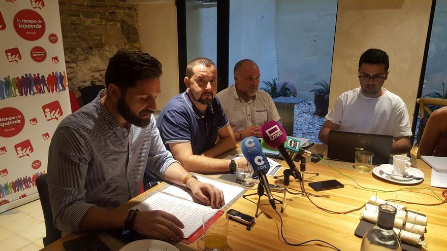 Rueda de prensa IU Toledo