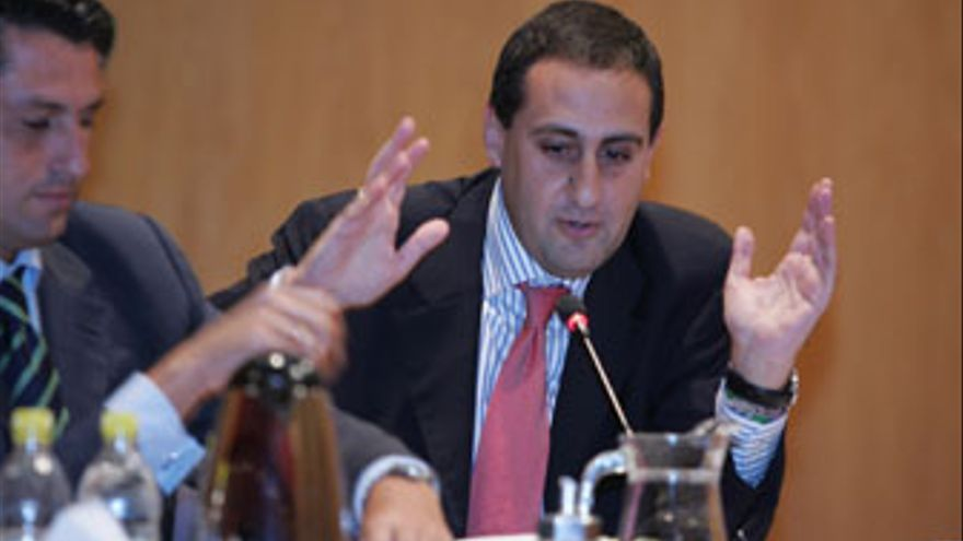 Feliep Afonso, viceportavoz del PP en el Ayuntamiento de Las Palmas de Gran Canaria. (QUIQUE CURBELO)