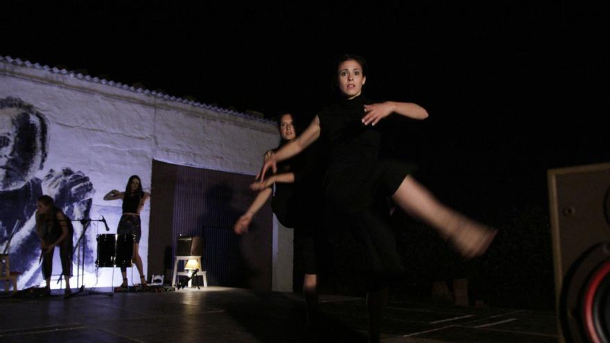 `AXIONIA´ de Komorebi en el Festival MAM del año pasado en La Postiza