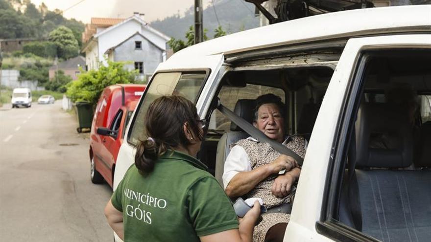 Portugal pide medios aéreos a Marruecos para ayudar a combatir el incendio