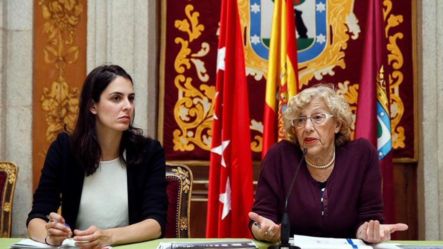"""Carmena expresa su """"grandísima alegría"""" por la liberación de Leopoldo López"""