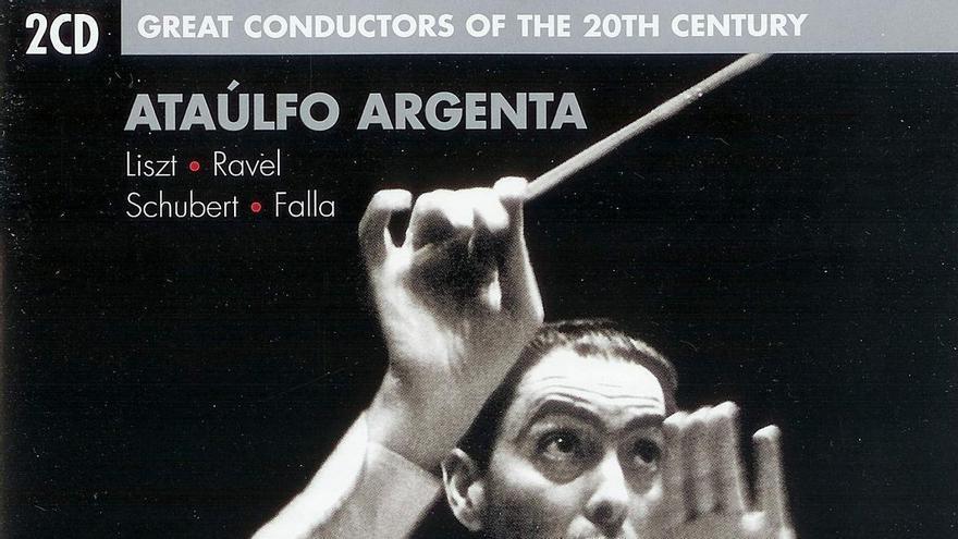 Argenta grabó casi un centenar de discos, la mitad de ellos de zarzuela. Para la compañía Decca grabó más de ochenta piezas clásicas, entre las que destacan sus relecturas de las obras de Berlioz y Falla.