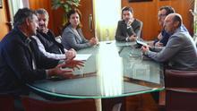 Reunión de dirigentes de Asaga, COAG y Palca con el presidente del Cabildo, este martes