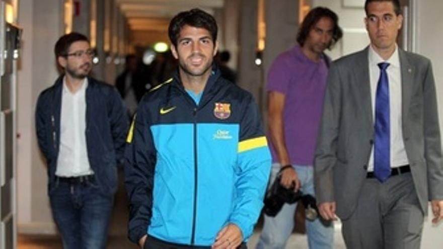 El Jugador Del FC Barcelona Cesc Fàbregas