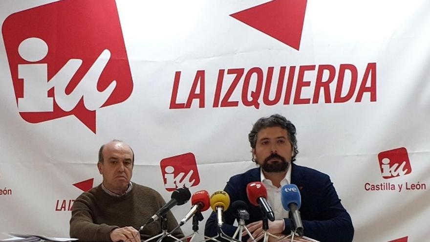 José Ramón Barrueco y José Sarrión, durante la rueda de prensa