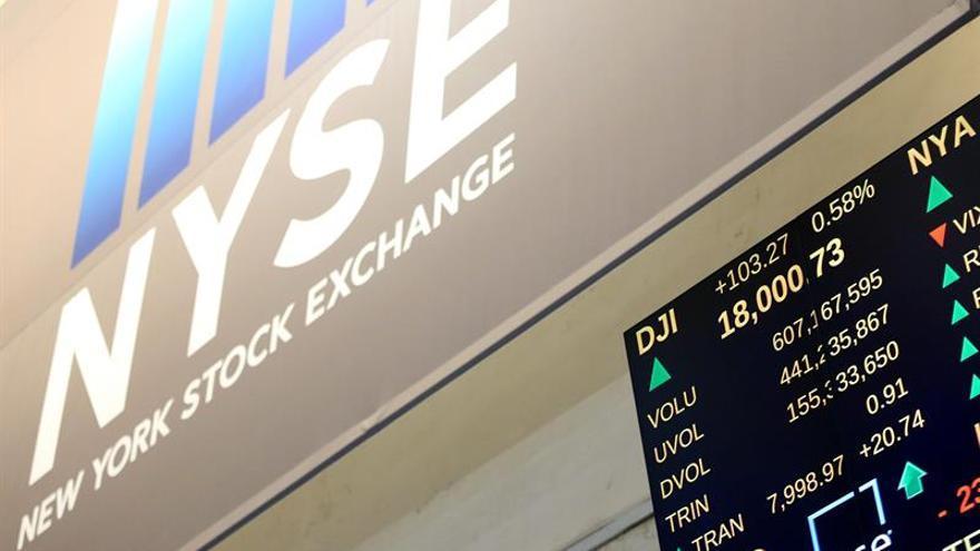 Wall Street abre al alza y el Dow Jones sube un 0,23 %