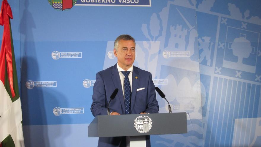"""Urkullu asegura que Euskadi acogerá a los refugiados """"con solidaridad y responsabilidad"""""""