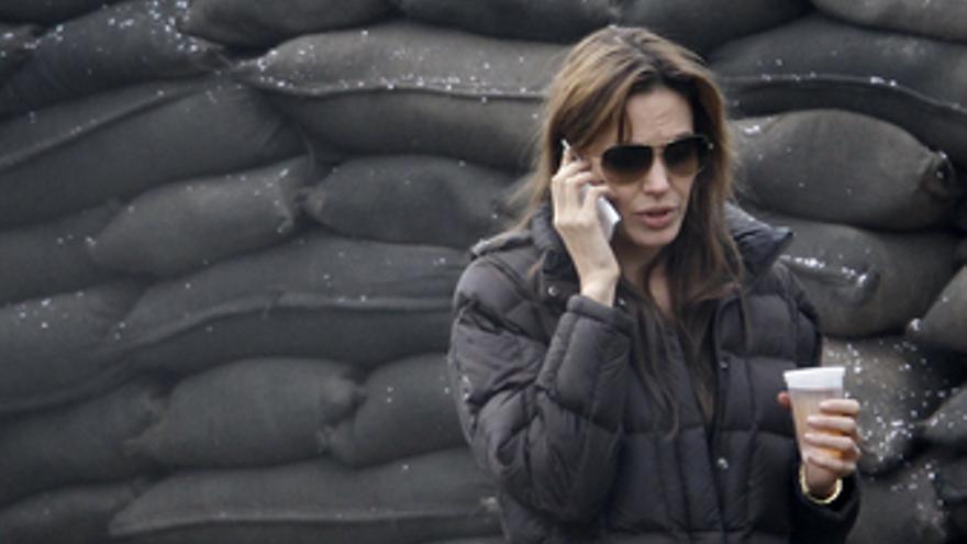 Angelina Jolie en su debut como directora