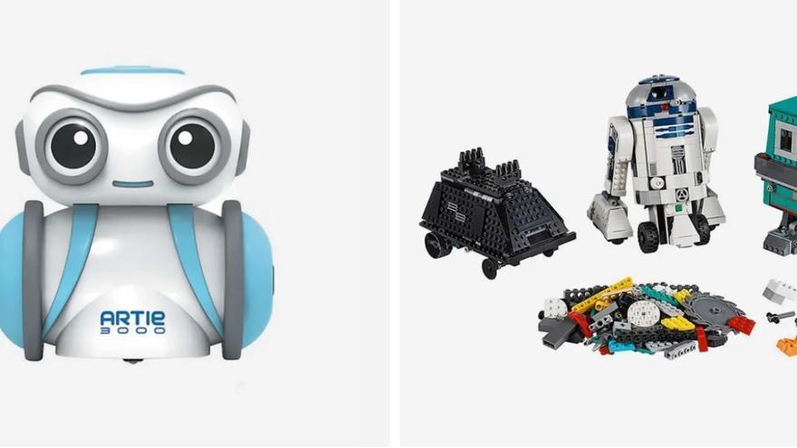 """Artie300 y el set de Lego """"Comandante Droide"""", preocupantes para los investigadores."""