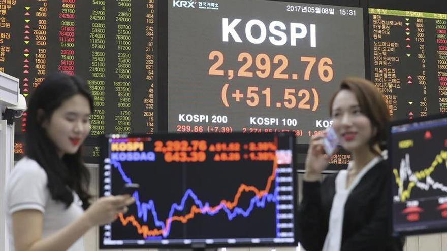La Bolsa de Seúl sube un 0,2 % en la apertura hasta los 2.390,91 puntos
