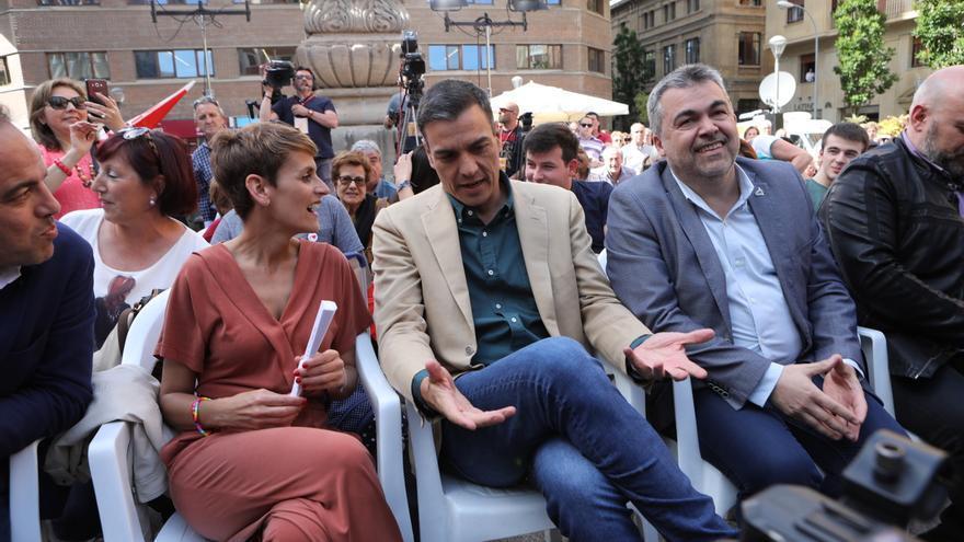 Ferraz se desmarca del intento de Chivite de formar un Gobierno progresista en Navarra con la abstención de Bildu