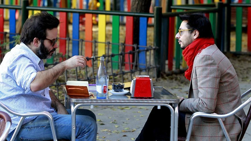 Antonio Lucas y Edu Galán. Foto: Marta Jara