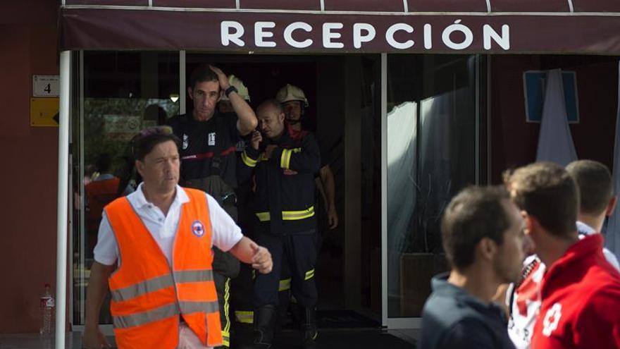 Cinco heridos graves y 89 leves por un escape de gas en un hotel en Isla (Cantabria)