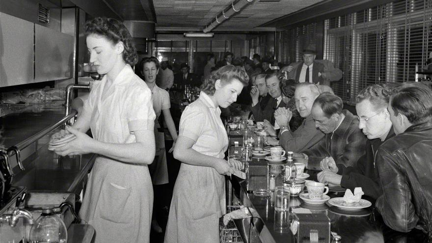 John Collier | 'Restaurante' (det.)