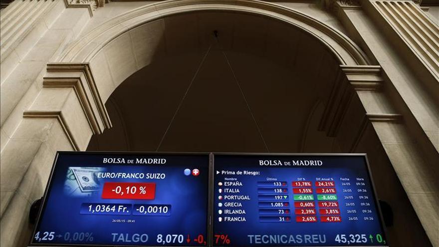 La prima de riesgo sube a 130 puntos y el bono, al 1,818 por ciento