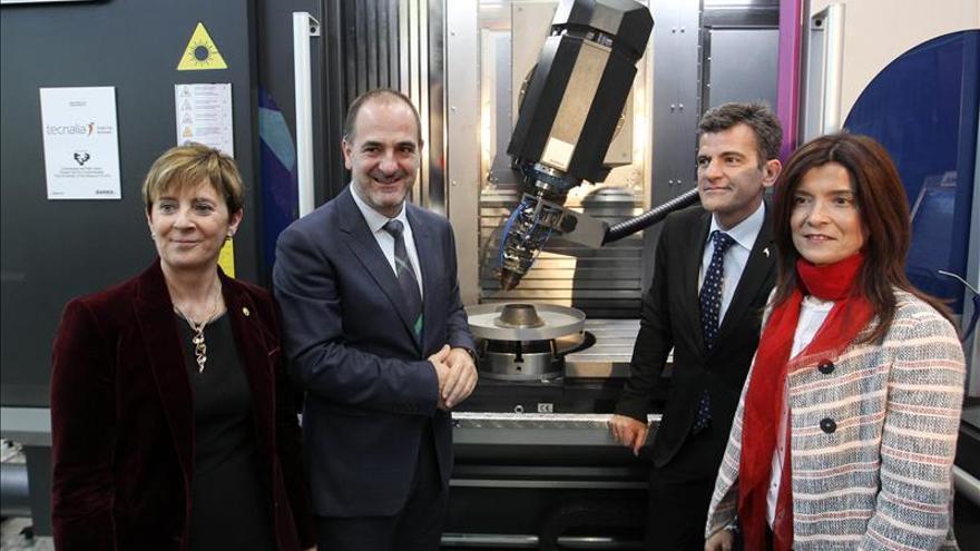 Expertos crean en Euskadi una de las impresoras industriales 3D más avanzada del mundo