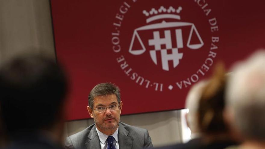 """Catalá afirma que la plurinacionalidad es un """"concepto ajeno"""" a la Constitución"""