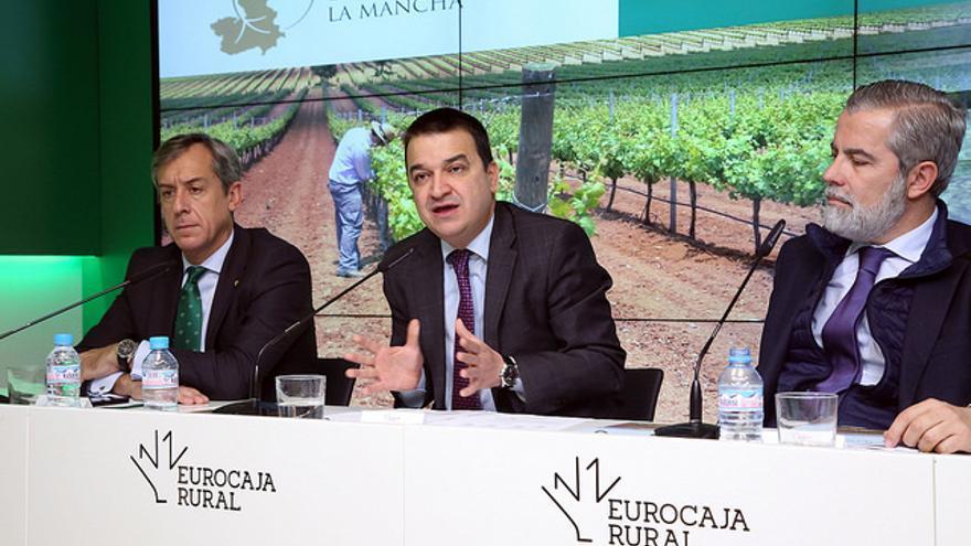 Presentación de viñedos de Castilla-La Mancha