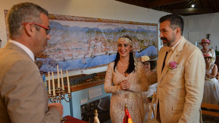 Boda indiana celebrada en el Castillo de Santa Catalina.