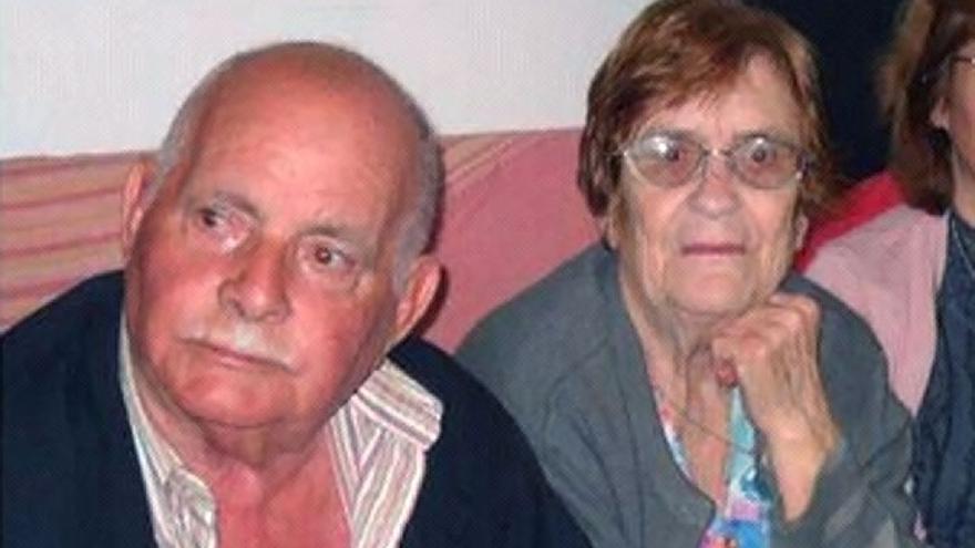 Antonio Quesada Díaz y su mujer, Ana María Artiles, en una fotografía de archivo.