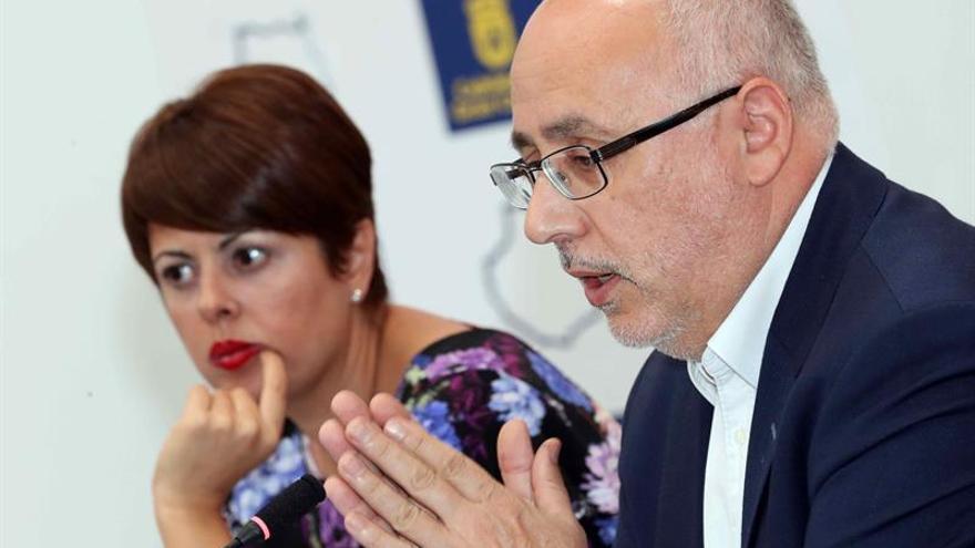 El presidente del Cabildo de Gran Canaria, Antonio Morales. EFE/Elvira Urquijo A