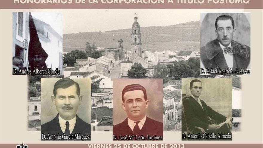 Alcaldes y concejales de Aguilar de la Frontera en 1931