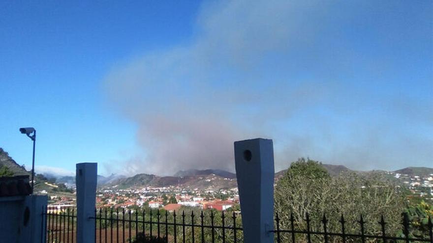 Conato de incendio en Las Mercedes, en el municipio de La Laguna