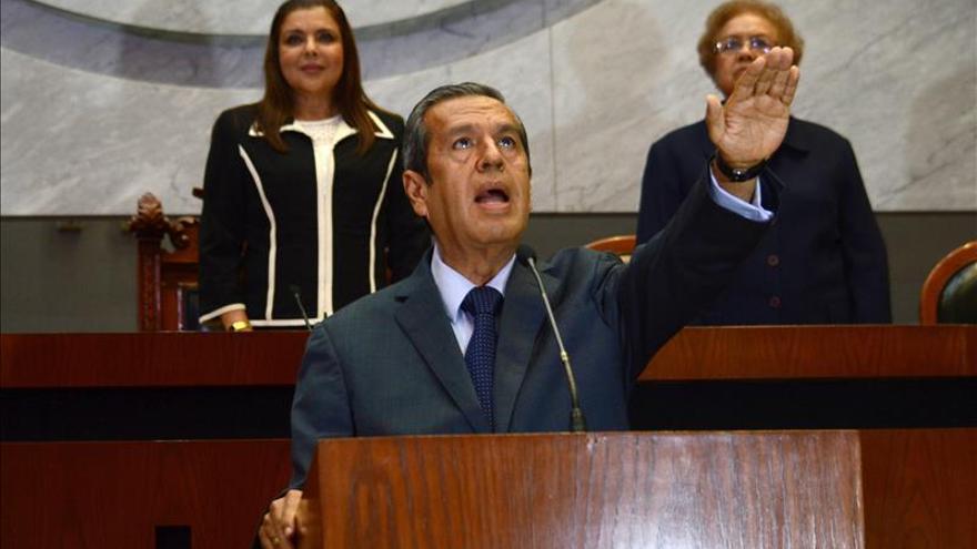 El gobernador de Guerrero se reúne con familiares de desaparecidos en Chilapa